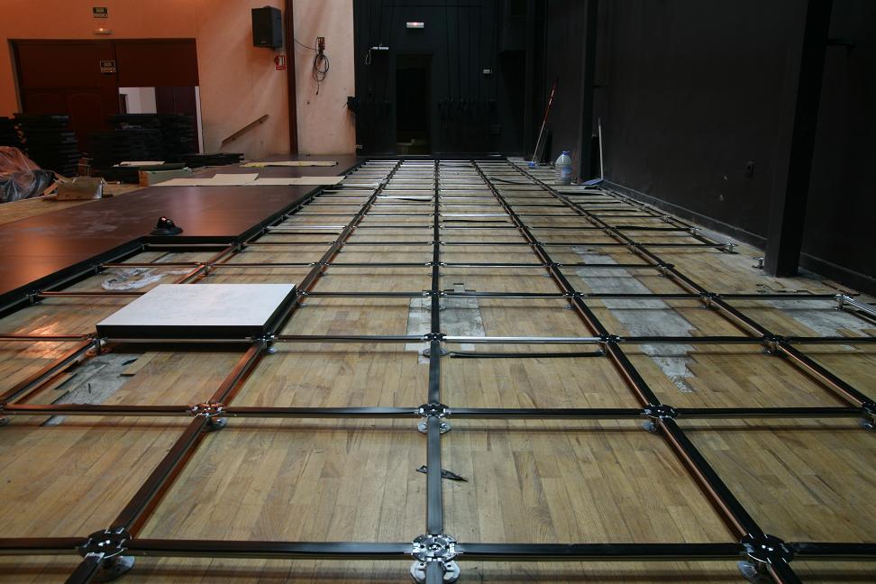 Componentes de un suelo t cnico ulloa pavimentos parqu tarimas suelos y moquetas - Suelo tecnico exterior ...