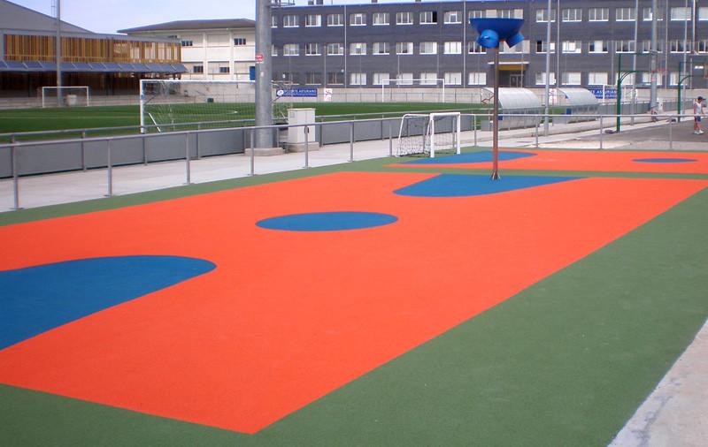 suelos para zonas deportivas exterior